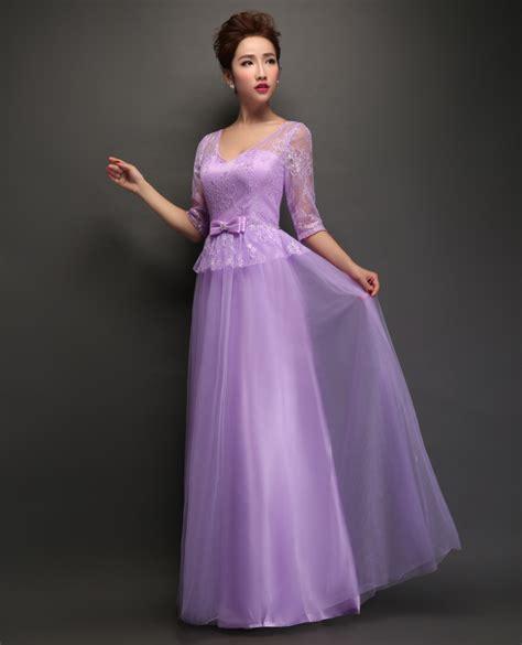 Bridesmaid Dresses Uk Sleeve - half sleeve purple bridesmaid dresses uk budget