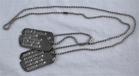 ww2 tags wwii tag 2nd type 1941 to 1943 ww2 tags