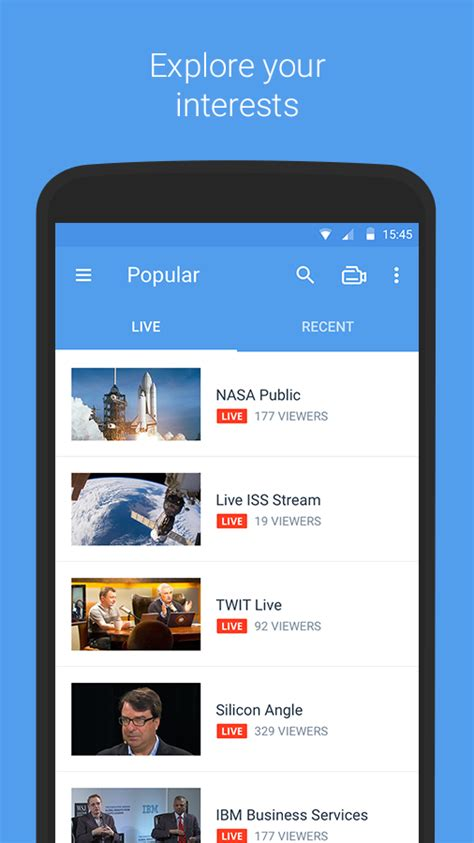 ustream apk ustream 3 2 0 apk android cats video players editors apps