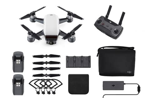 Quadcopter Drone Dji Spark Fly More Combo Original Garansi Resmi 1tahu dji spark quadcopter drone alpine white combo order now with free shipping