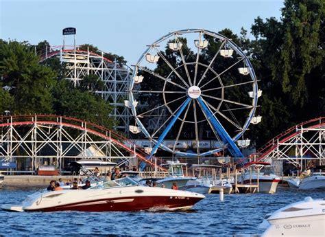 boat okoboji rental arnolds park ia arnolds park amusement park vacation okoboji