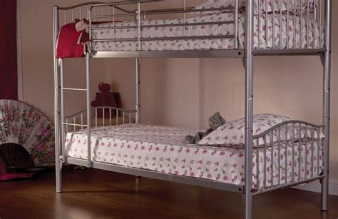 dreams bunk beds buy sweet dreams soria single metal bunk bed bedstar