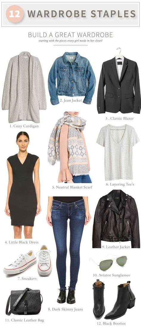 Wardrobe Staples For by 12 Wardrobe Staples Every Needs Something About That