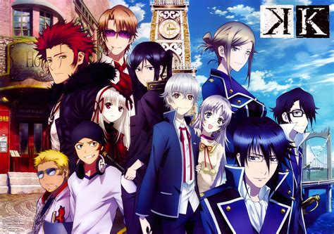 wallpaper anime k project homra red clan and scepter 4 blue clan 5k retina ultra