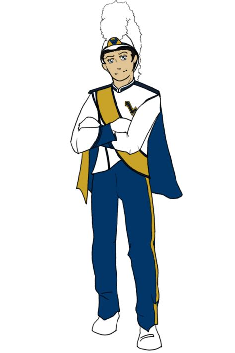 wvu colors wvu pride band member color by reddragonwings on deviantart