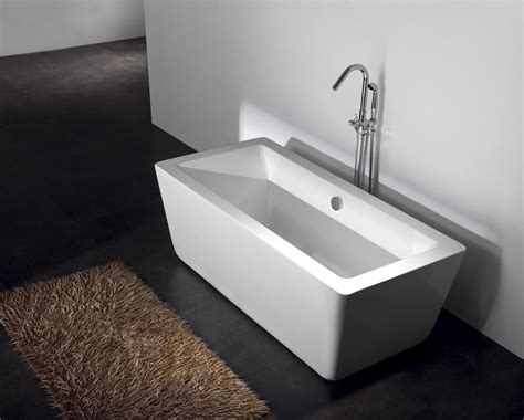 bathtubs freestanding soaking gratziella acrylic modern freestanding soaking bathtub 59