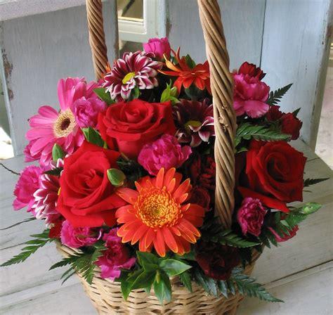 Flower Basket by Charming Flower Basket