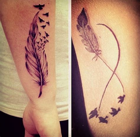 feather infinity tattoo infinity tattoos search tattoos