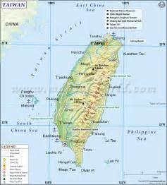 World Map Taiwan by Taiwan Map
