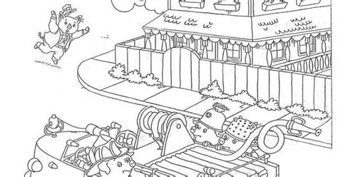 Richard Scarry Coloring Page Little Party Pinterest Richard Scarry Coloring Pages