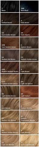 n easy hair color chart nice and easy hair color chart 25 best ideas about