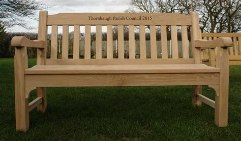 Handmade Wooden Benches - oak garden benches made in the united kingdom