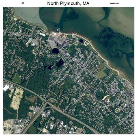 plymouth ma aerial photography map of plymouth ma massachusetts