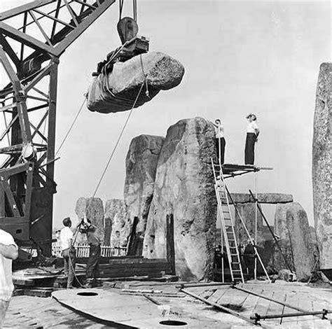 stonehenge construction real mccoy how they rebuilt stonehenge truthaholics