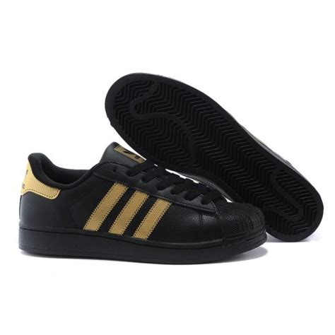 black and gold adidas sneakers adidas superstar black gold sneaker shoes shop at