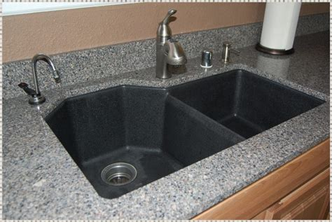 modern kitchen black granite composite sink reviews new