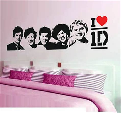 one direction wall sticker large one direction wall stickers i 1d wall decals in