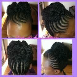 updo hairstyles with big twist flat twist updo natural hair black hair braid styles