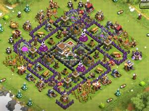 Best clash of clans town hall level 8 defense strategy