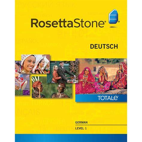 rosetta stone deutsch rosetta stone german level 1 27790win b h photo video