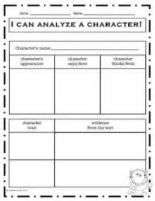 1000 images about character traits in reading on