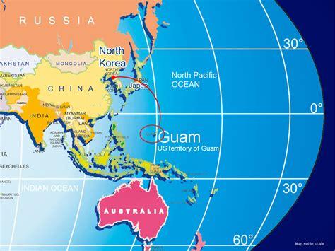 guam usa map korea and guam location map world at besttabletfor me