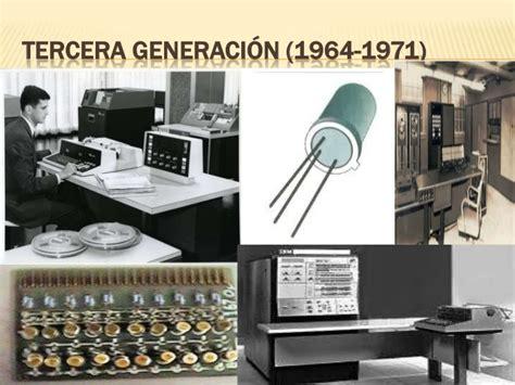 generacion de las computadoras las generaciones de las computadoras