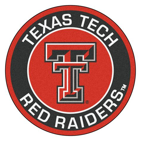 Holiday Doormat Texas Tech University Red Raiders Logo Roundel Mat 27 Quot