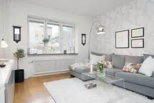White Furniture Living Room Ideas For Apartments Arredare Un Piccolo Bilocale In Stile Nordico E A Basso Costo