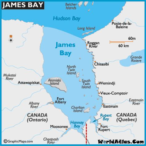 america map hudson bay bay map and map of bay depth size history