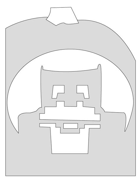 minecraft pumpkin template www imgkid com the image