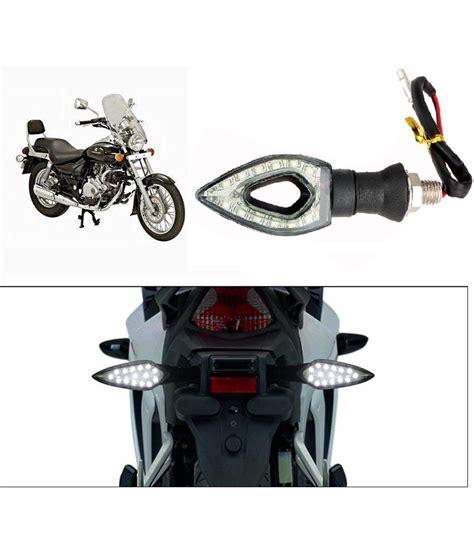 Packing Set Bajaj Pulsar 180 Xln spedy white led oval shape bike indicators for bajaj pulsar 200 ns dts i set of 2 buy spedy