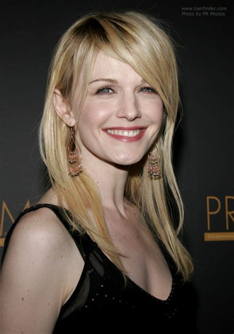 Colors In 2017 by Kathryn Morris Wearing Hair Extensions