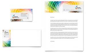 letter templates for painting house painting contractor business card letterhead
