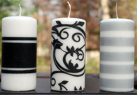 Candle Decoration Craft by 12 Designer Ideas To Dress Up Plain Candles Thegoodstuff