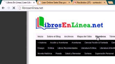 leer libros de informatica en linea 191 c 243 mo leer libros en linea desde librosenlinea net youtube