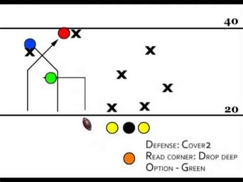 seven plays trips left 873 vs cover 2 flag football plays youtube