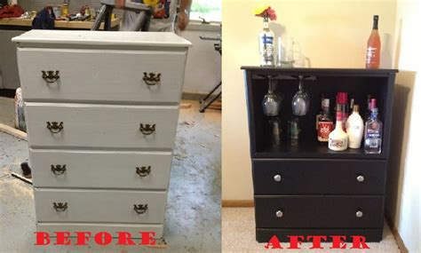 Dresser Turned Into Bar by Dresser Converted Into A Bar For An Apartment Craft