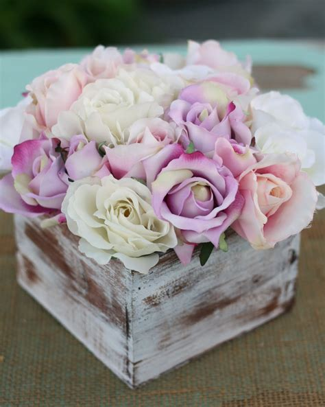 morgann hill designs shabby chic rustic flower bouquet wedding centerpiece arrangement
