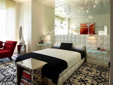 mirror ideas for bedrooms cool monochromeatic nuance at modern bedroom which is