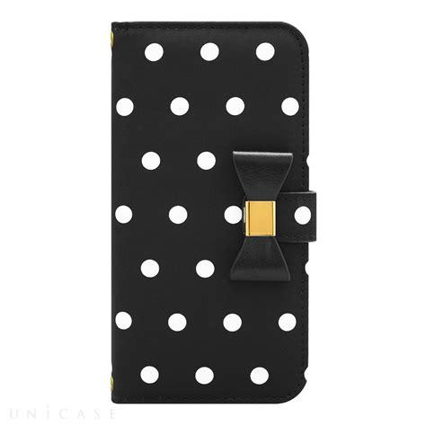 Ribbon Dot Black iphone6s 6 ケース ribbon diary dot black for iphone6s 6