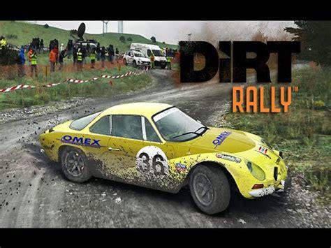 renault alpine a110 rally dirt rally renault alpine a110 bronfelen