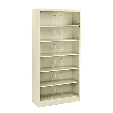 Open Shelf Filing Cabinets by Hon Brigade 600 Series Shelf File Cabinet Letter Size 6 Open Shelves 75 78 H X 36 W X 13 34 D