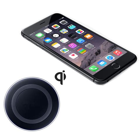 qi wireless charging pad for apple iphone 6 plus high transmission rate ebay