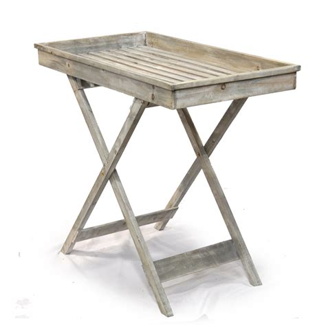 wood retail display tables
