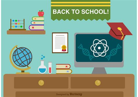 back to school background back to school background free vector