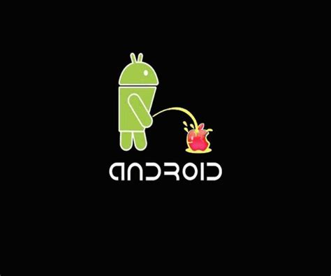 wallpaper android vs apple android vs apple hot hd wallpapers