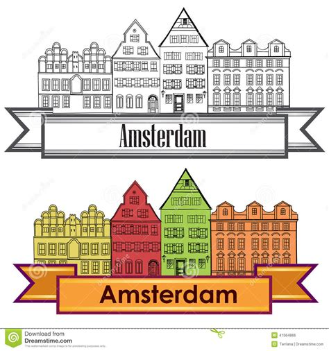 Amsterdam Fashion Icons And by Amsterdam Canal Houses Netherlands Symbol Travel Europe