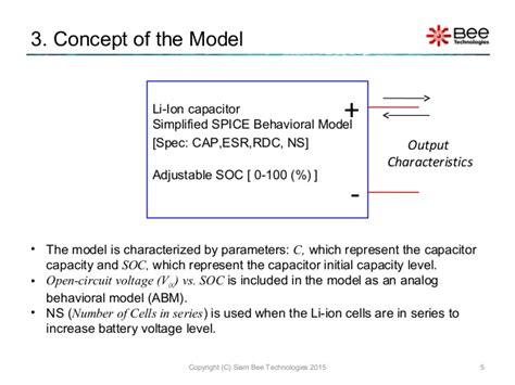 pspice capacitor esr li ion capacitor model simplified model pspice version