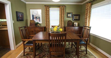 craftsman dining room  portland oregon craftsman